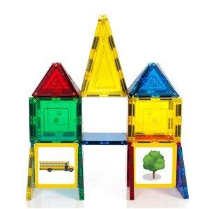 $14.99(原价$39.99)史低价:Magnetic Stick N Stack 磁力建筑片40片装,Brain Child 获奖玩具