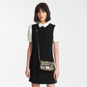 额外8折 浓浓法式风情Karl Lagerfeld Paris 折上折大促 提花连衣裙$39,渐变衬衫$44