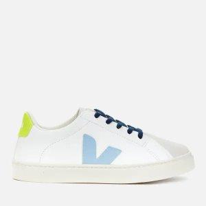 Veja最大13.5码儿童小白鞋