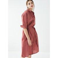 Uniqlo 棉麻连衣裙 多色可选