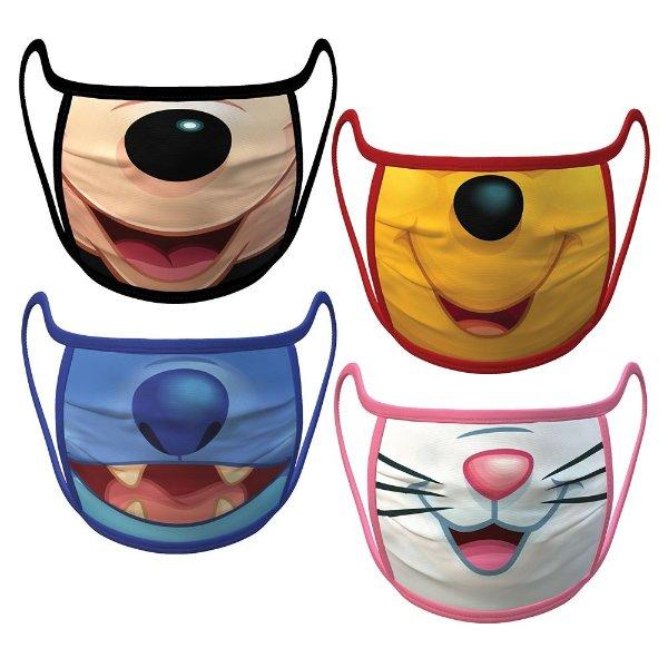 Cloth Face Masks 4-Pack Set | shop