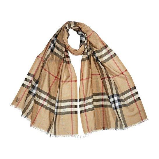 Giant Check围巾