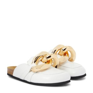 JW AndersonEmbellished leather slippers