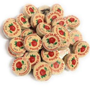$9.18 亚马逊首选产品De La Rosa 墨西哥玫瑰花生酥糖 30块装