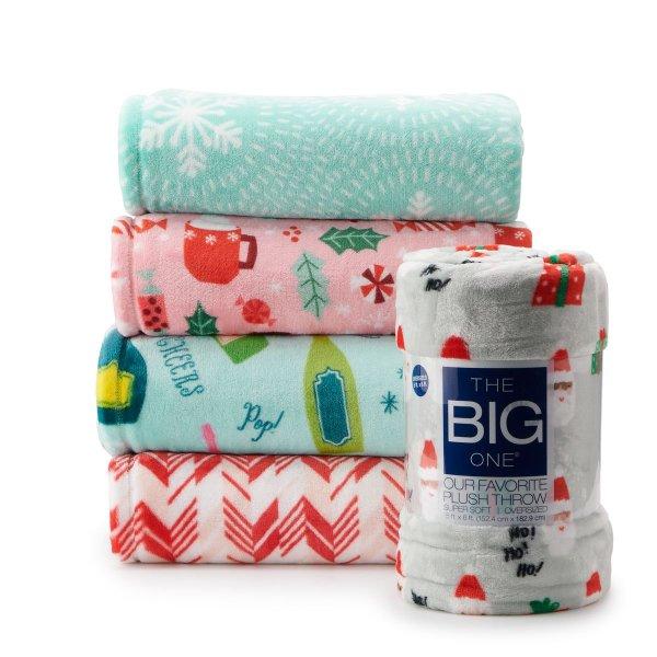 超柔保暖盖毯 多花色可选