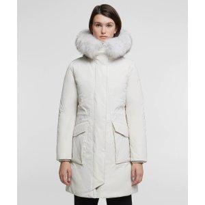 WoolrichMilitary Parka With Fox Fur