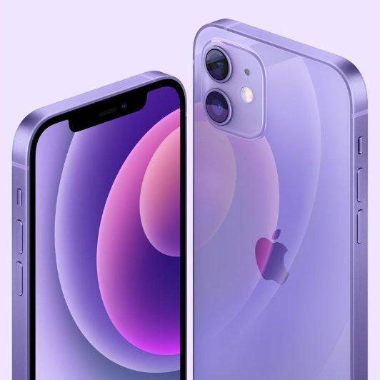 Apple iPhone 12/12 mini 紫色发布Apple iPhone 12/12 mini 紫色发布