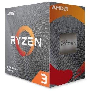 $99, 3600仅$164.49AMD Ryzen 3 3100 4核8线程 处理器 带散热器
