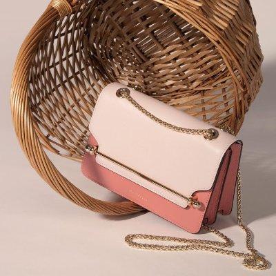 £355起收新色托特包Strathberry 全新樱花粉色美包上架