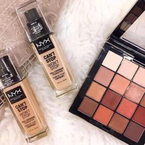 NYX 专业平价彩妆品牌热促 绝对不输大牌的开架彩妆