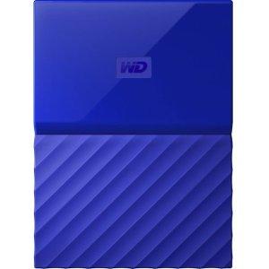 WD 4TB Yellow My Passport  Portable External Hard Drive - USB 3.0