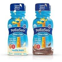 PediaSure Grow & Gain 香草、巧克力口味液体营养饮品8盎司/瓶,24瓶
