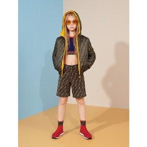 低至5折+满额最高额外8折Fendi 童装年中大促 大童码成人也能穿