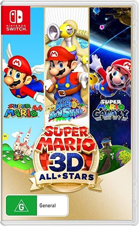 超级马力欧3D合集- Nintendo Switch