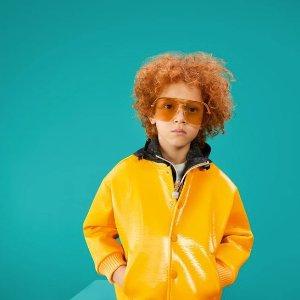 4折起!Burberry短袖仅£233FARFETCH 大童区大促 最大14Y 收Gucci、Fendi、GG小脏鞋
