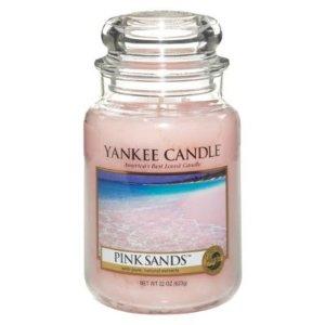 Yankee热门香!可燃烧150hr!Pink Sand香薰蜡烛