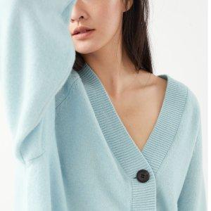 低至5折+额外8折 毛衣£20& Other Stories 蓝色专场 超多温柔的颜色 穿上贤惠小娘子