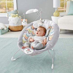 低至$22.31 多款补货史低价史低价:Fisher-Price 婴幼儿安抚摇床、弹跳床、高脚餐椅等特卖