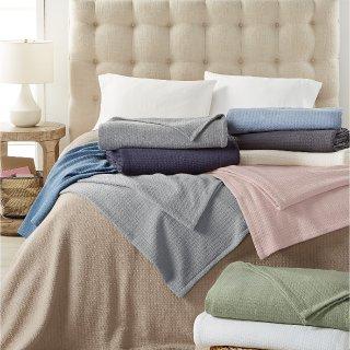 FromLauren Ralph Lauren Classic 100% Cotton Blanket
