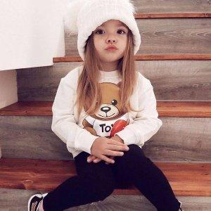 低至5折+额外8.5折 黛西T恤$44FARFETCH儿童专场 Moschino小熊T恤$48 大童款成人可穿