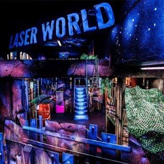 低至6.8折+额外7.5折Laser World 真人激光游戏 挥起你的激光大宝剑吧