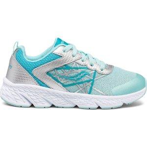 Saucony有加宽可选中童 Wind Lace 运动鞋