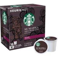 Starbucks Sumatra K-Cup 胶囊咖啡16个