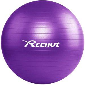 REEHUT 瑜伽球 紫色55cm