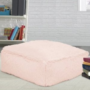 $29.00Mainstays 舒适粉嫩毛绒地板枕