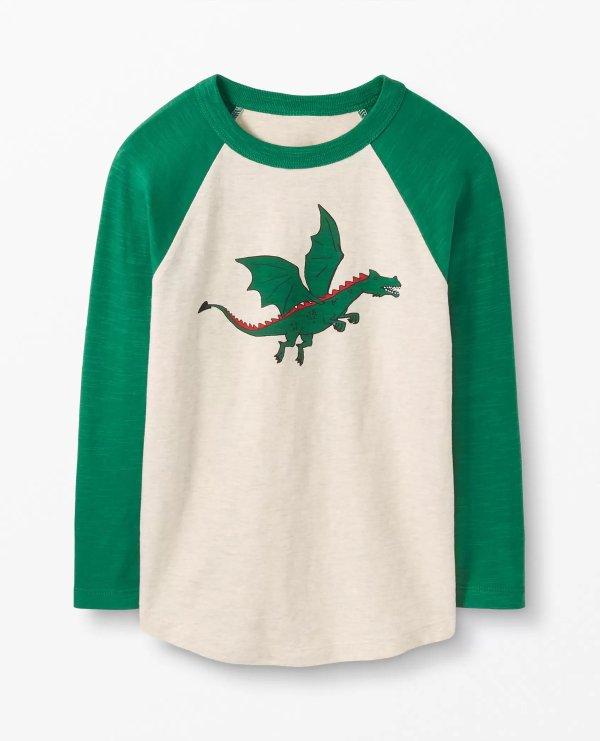 恐龙棒球衫