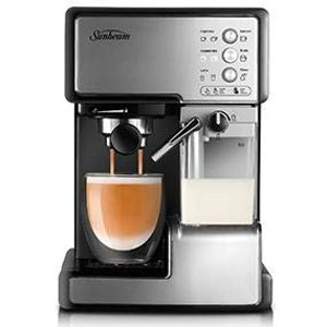 $145 (原价$186.16)Prime Day:Sunbeam EM5000 高颜值咖啡机 烘焙高手必备