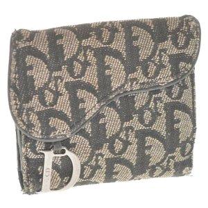 Dior老花钱包