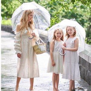 低至6.5折+额外6折 $5.99起独家:Totes 全场雨伞雨具新春大促 封面泡泡伞仅$19