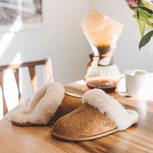 低至5折UGG官网 时尚羊毛休闲鞋、拖鞋促销 冬季必备