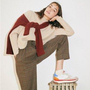 低至3折Madewell 时尚闪促 女团风上衣仅$22、耳环$19