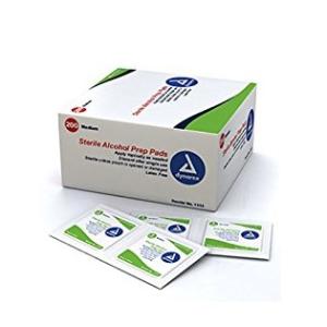 $3.28Dynarex Alcohol Prep Pad, Sterile, Medium (Box of 200)