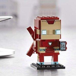满额送好礼LEGO Brickheadz 超可爱方头仔系列特卖