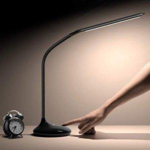 $9.99Aglaia LED可调触摸式护眼台灯 带USB充电端口