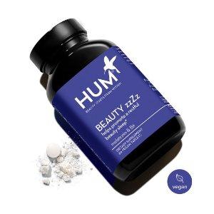 HUM Nutrition满3瓶8.5折+独家8.5折Beauty zzZz™ 褪黑素助眠保健品