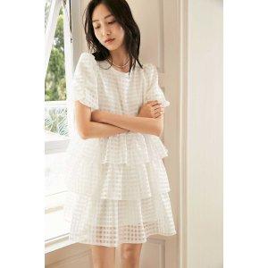 J.ING标价为8.5折价蓬蓬蛋糕裙