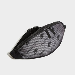 Nike灰色 腰包