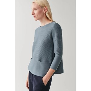 COSA-LINE COTTON KNITTED TOP