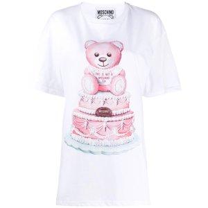 Moschino满£150享8折小熊T恤