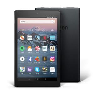 两个仅$79.98(原价$199.98)白菜价:Amazon Fire HD 8 平板电脑 黑色款