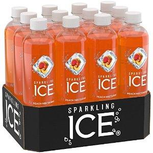 蜜桃口味气泡水 500ml 12瓶