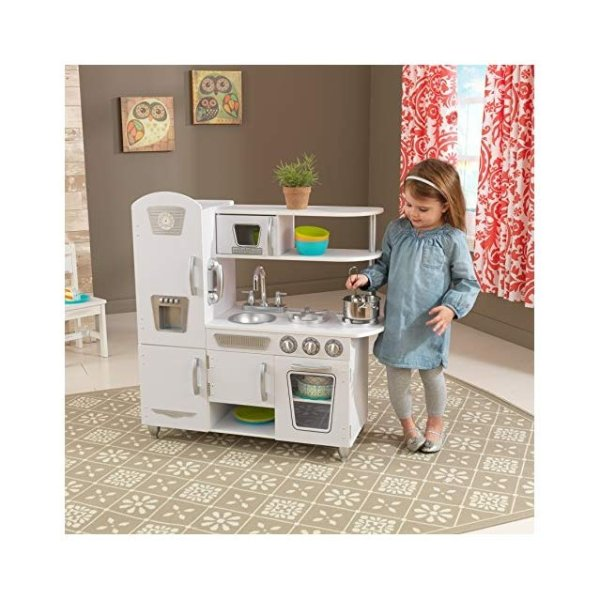Vintage Kitchen儿童厨房玩具 额外减$25