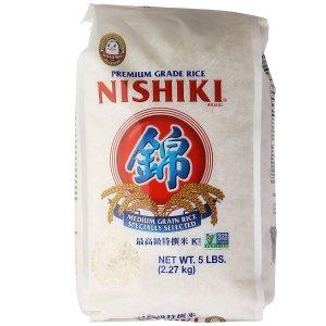$5.81补货:Nishiki 高级特选米 80盎司