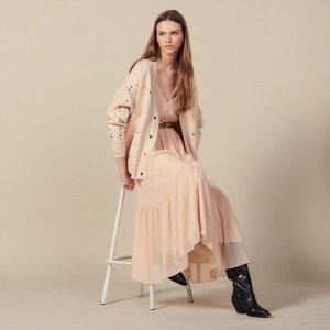 低至5折 £157收杜鹃同款连衣裙Sandro 全场大促 法式风轻松帮你活成一个温柔又浪漫的女子