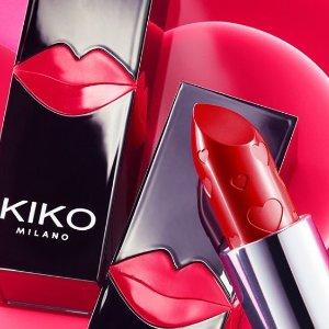 7.5折  €9.7收爱心双色高光腮红KIKO 2020情人节限定系列全新上市 少女心炸裂