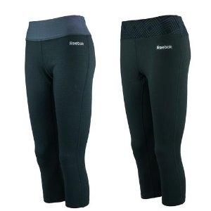 低至3折 + 包邮Dealmoon独家:Reebok 女款Logo印花运动裤(2条装)促销